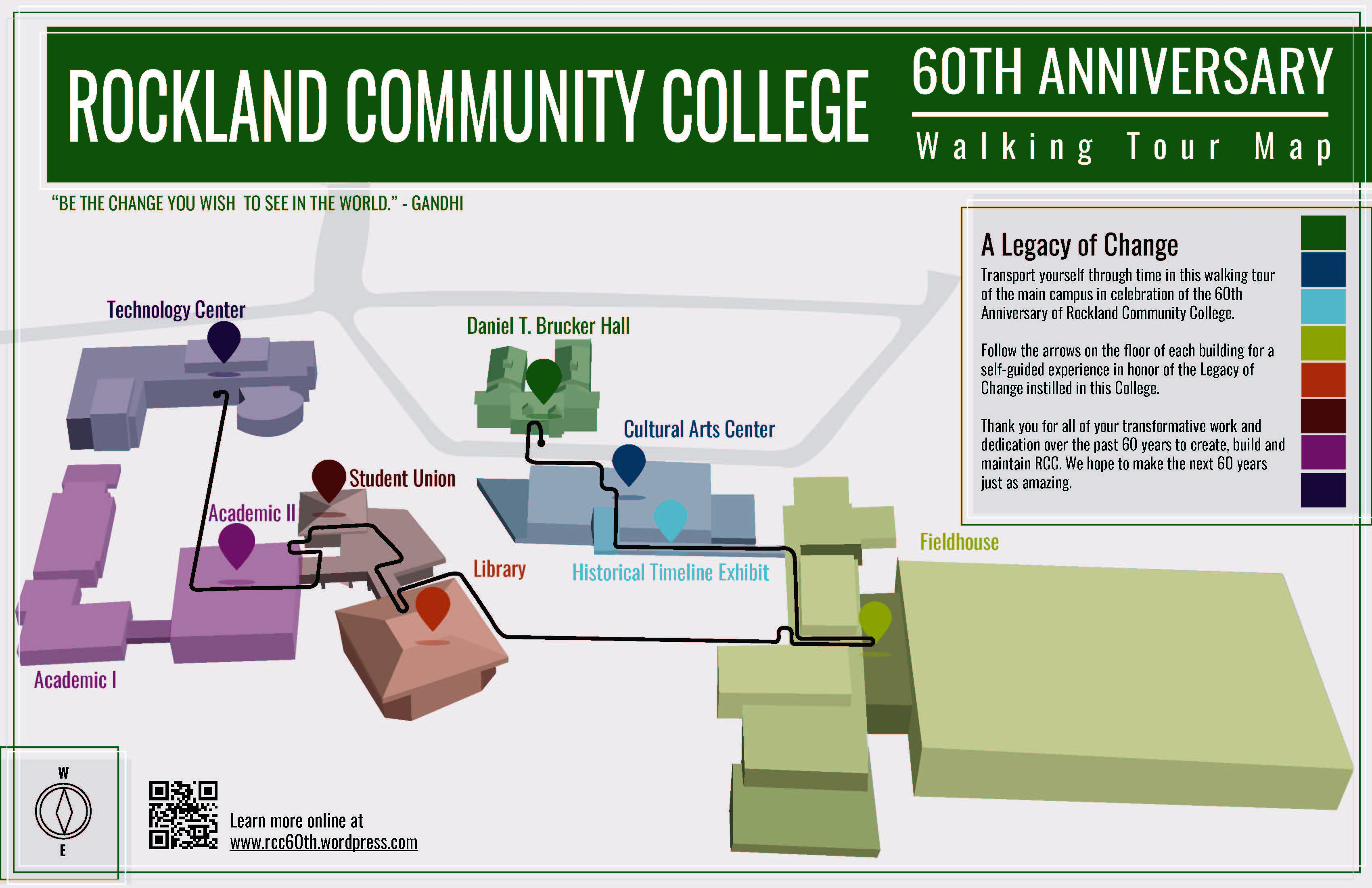rockland community college campus map Suny Rockland Community College Celebrating 60 Years rockland community college campus map